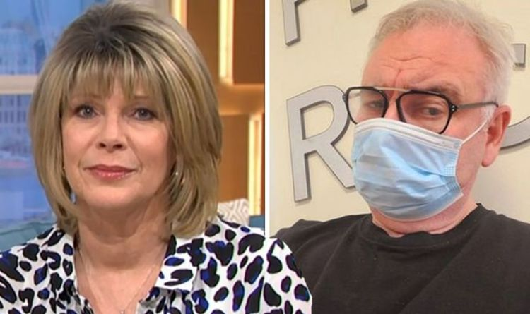 Ruth Langsford admits it's 'hard to help' Eamonn Holmes with 'difficult' health battle