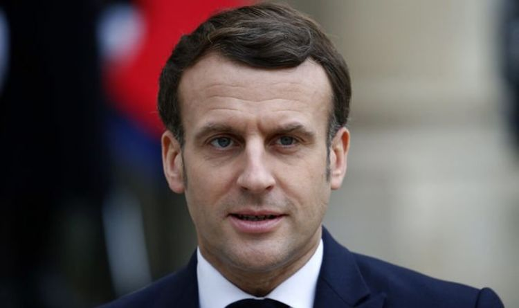 Outrage as Macron compared to Hitler on horrific French billboard