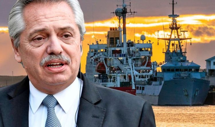 These are OUR waters! Argentina launches Falklands power grab - UK companies targetted