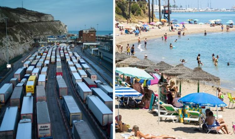 Summer holiday warning as Brexit checks to cause chaos in weeks