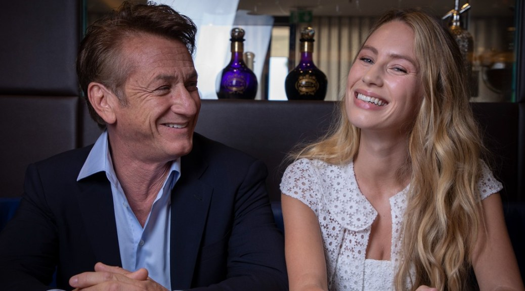 Back in Cannes, actor Sean Penn directs again, along with daughter Dylan