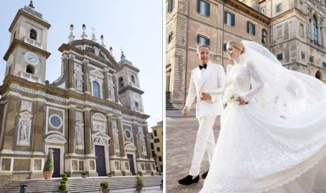 Stay in Italy, the town Lady Kitty Spencer grew up in Only PS40 to get married
