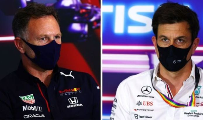"""Red Bull boss Christian Horner attacks Toto Wolff, a 'control freak"""", ahead of British GP"""