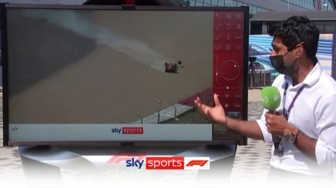Karun Chandhok was at the SkyPad to take a closer look at the collision between Lewis Hamilton and Max Verstappen during lap one of the British GP