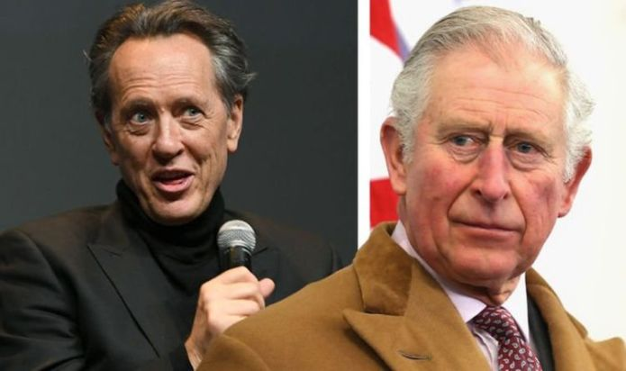 """Richard E Grant lashed out at Prince Charles, saying """"What the heck are you doing?"""""""