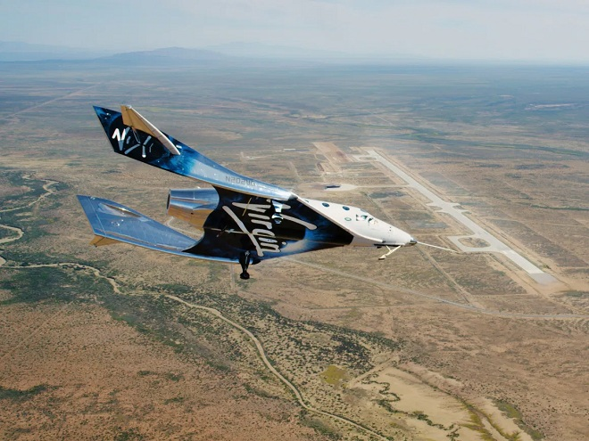 The Virgin Galactic founder became the first billionaire