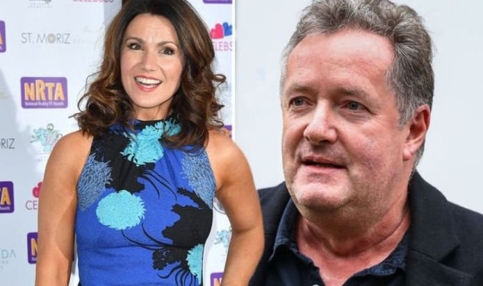 Susanna Reid refers to Piers Morgan, her ex-star as she wins an award from ITV for GMB