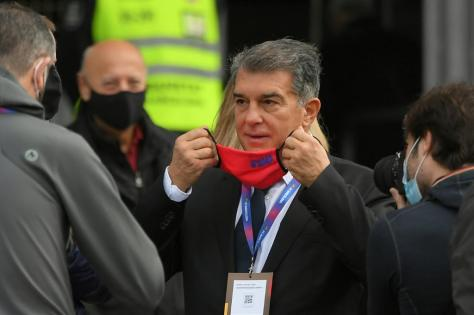 Joan Laporta was the clear winner of the Barcelona presidential elections on Sunday.
