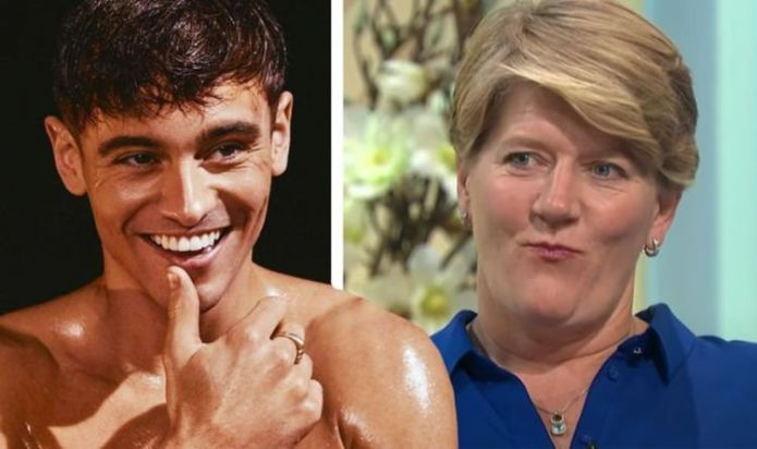 'Clare Balding has to watch out!' Tom Daley has his eyes set on Olympic host's job