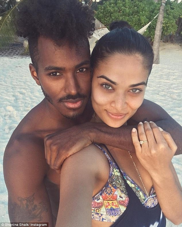 Never say never: Shanina previously said she would 'love to get married again, after her marriage to DJ Ruckus (left) ended in divorce