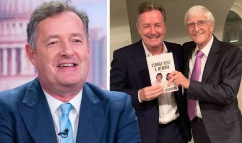 """Piers Morgan responds to Sir Michael Parkinson's remarks: """"We are the best."""" You need someone like this voice."""