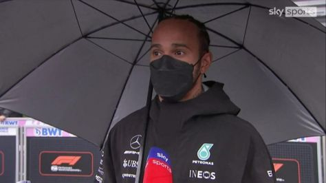 Championship leader Lewis Hamilton believes the fans deserve their money back after witnessing only two laps behind the Safety Car at a wet Spa track in Belgium