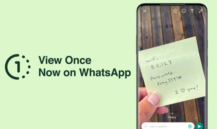 WhatsApp: The new Snapchat video, image - How to Use the Chat App's New Vanishing Video. Feature
