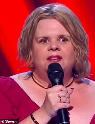 Pictured: Contestant Anne Bell