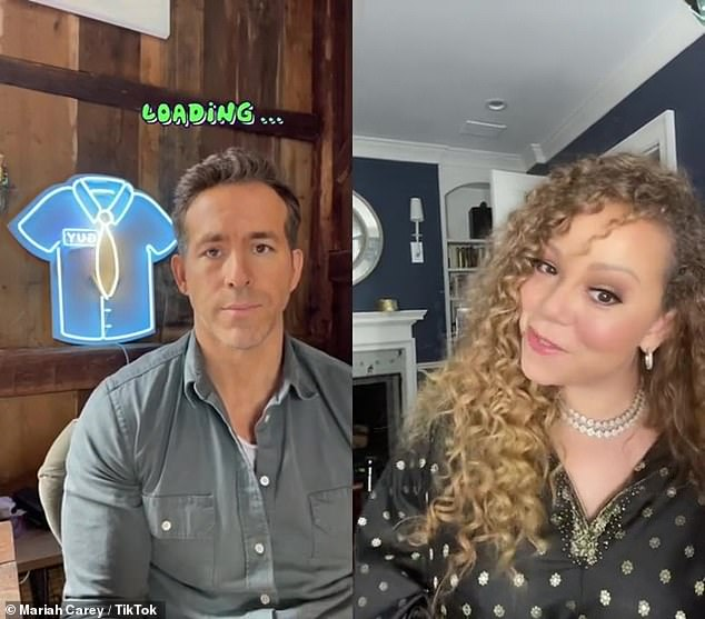 Mariah Carey creates a funny duet from her smash song Ryan Reynolds, Fantasy with a Free Guy Star