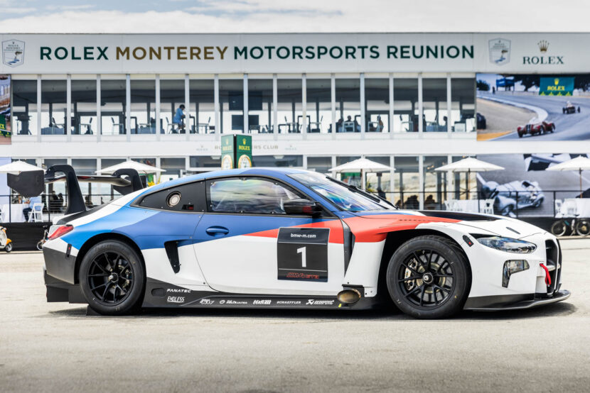 Live Photos: The BMW M4 GT3 is Unveiled in Laguna Seca