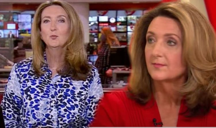 Record set by Victoria Derbyshire, red-faced An embarrassing gaffe by BBC News goes viral
