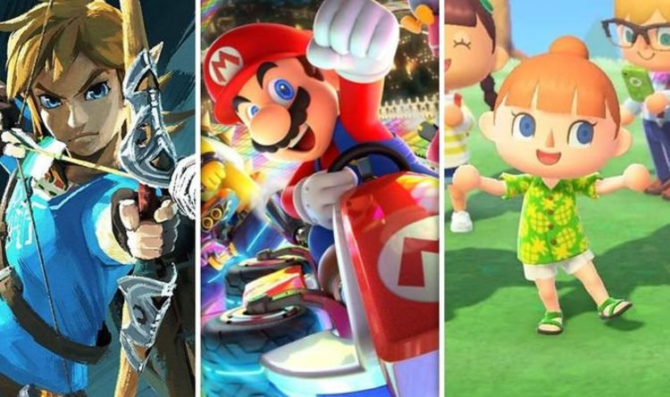 Guess which Nintendo Switch is the most popular first-party Nintendo Switch? Games