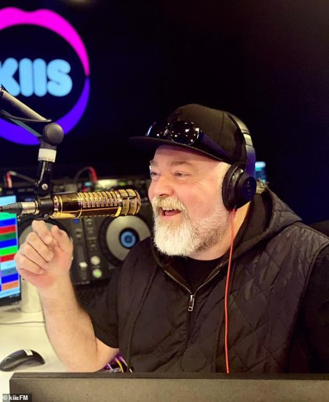 Prank: Jackie, who lives in an $11million mansion in Woollahra, in Sydney's eastern suburbs, was left mortified when her co-host Kyle Sandilands (pictured) told her he had a woman on the line claiming to be Jackie's 'angry neighbour'