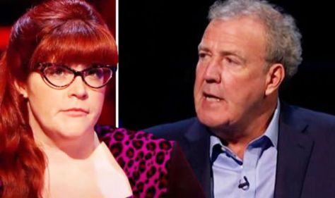 """""""You run the risk of getting lamped"""" Jenny Ryan from The Chase says. at Jeremy Clarkson after blow"""