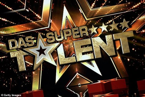 Good sport: She had signed up at the eleventh hour to replace a judge who had tested positive for COVID-19 on Das Supertalent, a production of Simon Cowell's Got Talent franchise in Germany