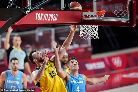 A slam dunk: But the happy ending wasn't enough for the reality dating series, as the Tokyo Olympics annihilated the competition on the free-to-air stations