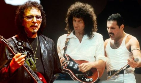 Black Sabbath: The Queen made a guest appearance on the iconic Black Sabbath track