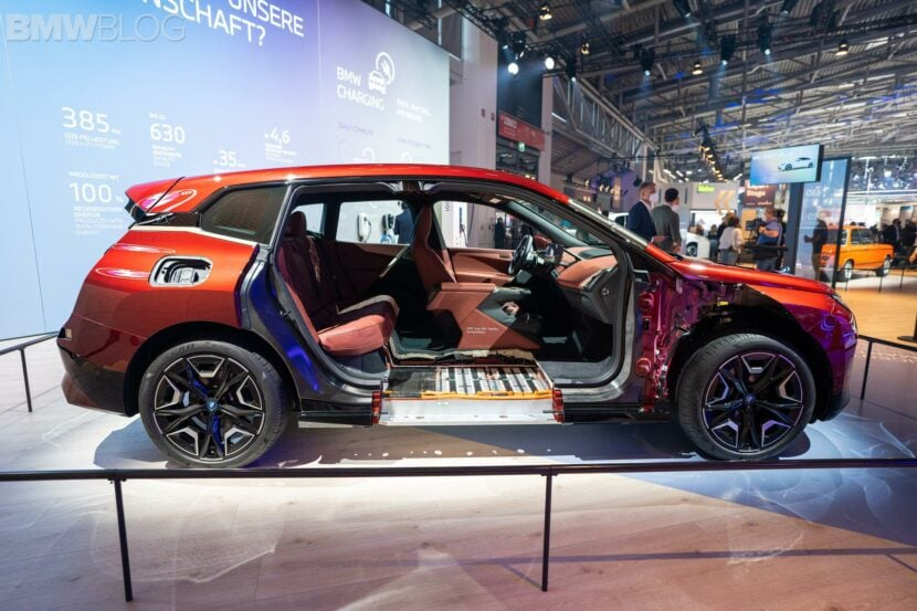 2021 IAA: BMW iX – The Flagship Crossover is an auto show Start