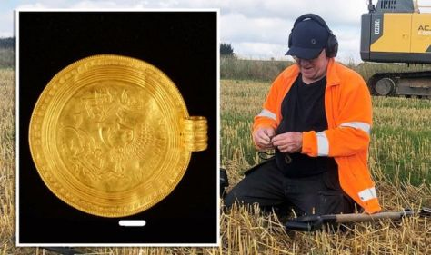 Pre-Viking Gold found in Archaeology 'using Metal Detector for the First Time'