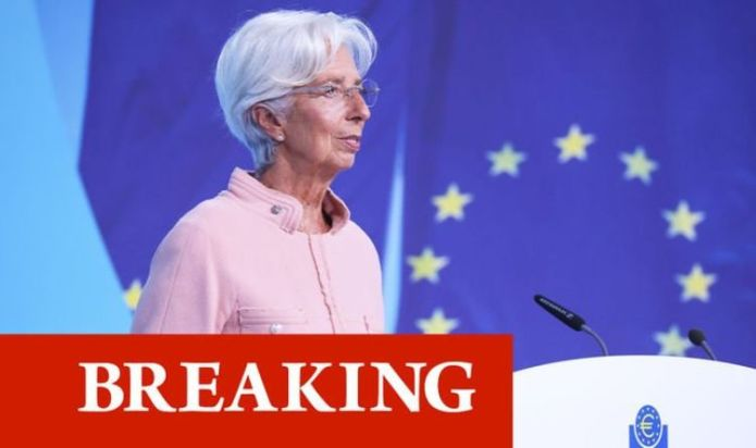 """European Central Bank acknowledges rising inflation fears. """"The lady isn't tapering."""""""