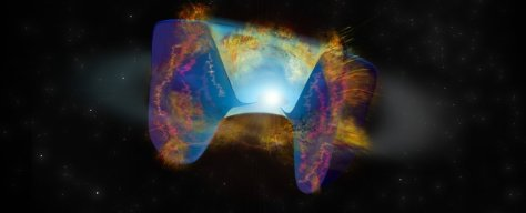 Astronomers Identify an Entirely New Type of Supernova Born in a Violent Star Merger