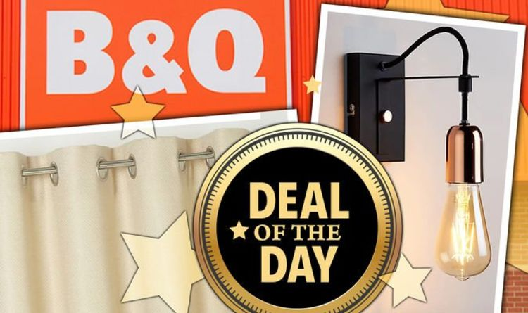 DEAL OF THE DAY: B&Q slashes 10 percent off everything in weekend flash sale
