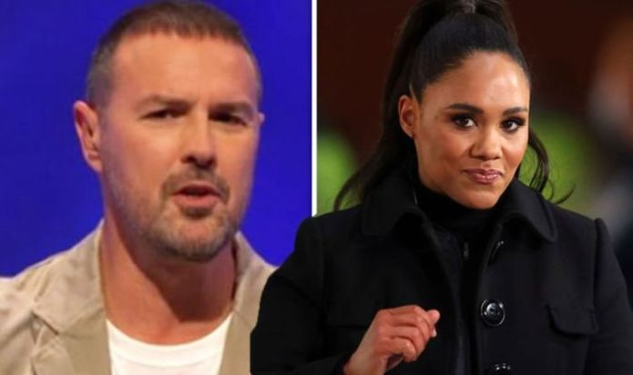 """Alex Scott urges Paddy McGuinness to be'replaced' amid Divide the 'unwatchable"""" Question of Sport"""