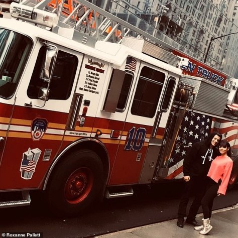 'He¿s the strongest and smartest man I¿ve ever known': The former Emmerdale star's husbandJason Carrionworks for the New York City Fire Department