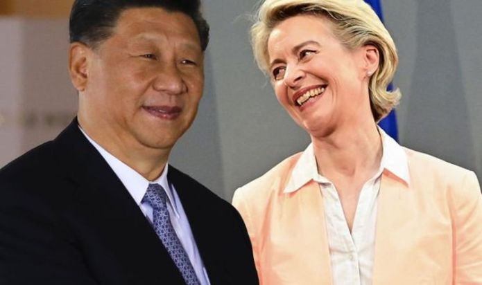 EU is criticized for being MIA while UK and US join forces to fight China. 'Brussels on vacation'