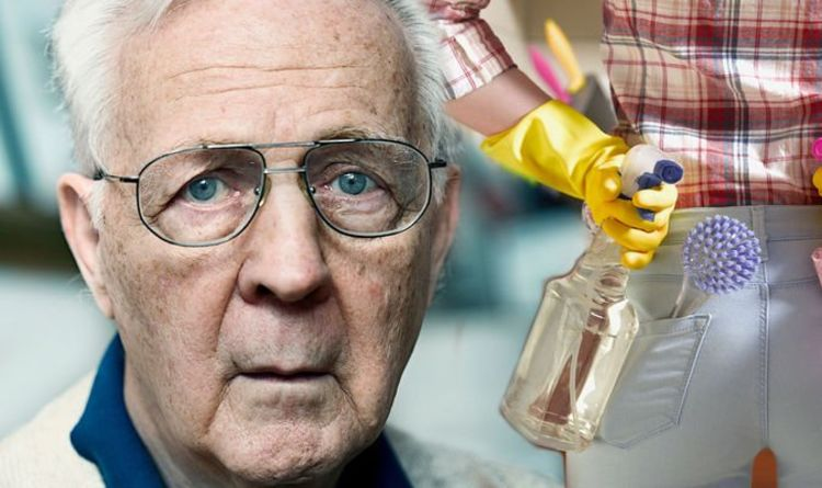 Alzheimer's disease: The five household chores helping to reduce your risk says study