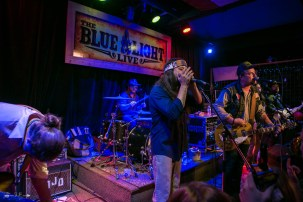 Dalton Domino at The Blue Light. Photograph by Susan Marinello/New Slang