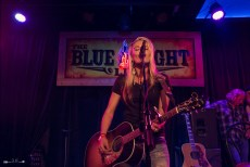 Bri Bagwell at The Blue Light. Photograph by Susan Marinello/New Slang.