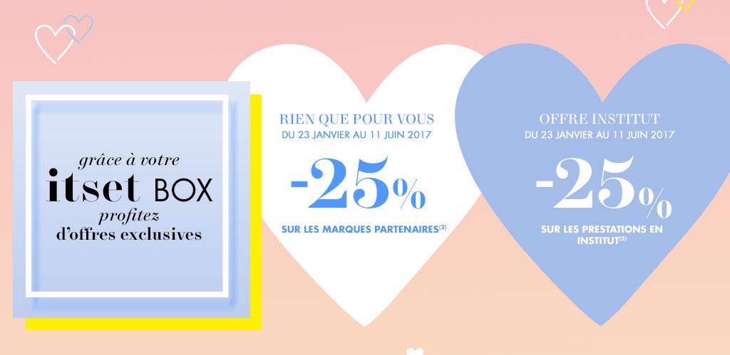 Itset Box Episode N8 Blue Valentine Marionnaud