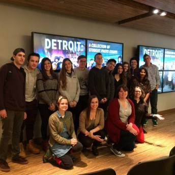 Detroit: A Collection of Student Photo Essays by T Hetzel's Lloyd Hall Scholars Program 125 class