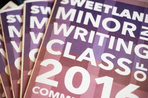 Minor in Writing Commencement