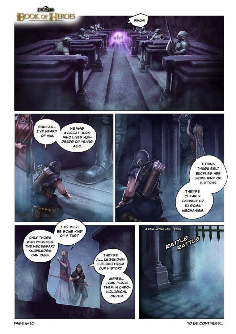 The Dark Eye: Book of Heroes | comic page #6