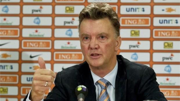 louis van gaal among soccer coaches