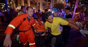 Bangkok boom blast