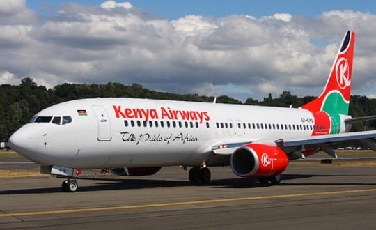 man in Kenya-Airways