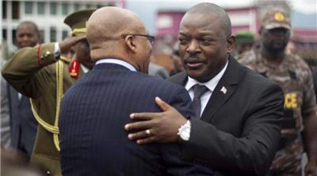 Burundi's leader Pierre Nkurunziza
