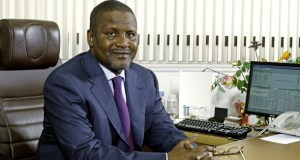 billionaires and richest Aliko Dangote on poverty