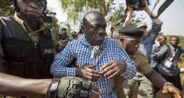 brian white's bodyguard and besigye