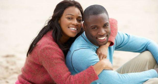 black couple guys