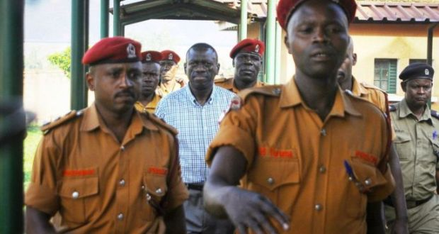 besigye to security prison